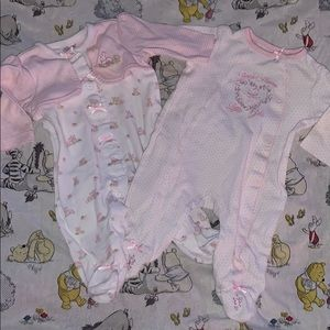2PC Footsie Pajama Set!